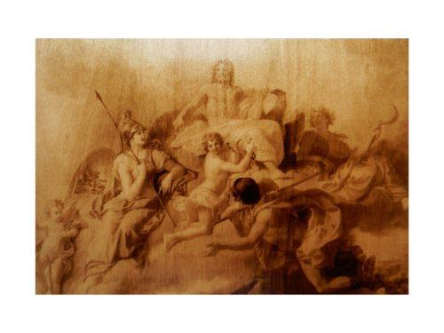 "Картина ""Триумф Юпитера"""